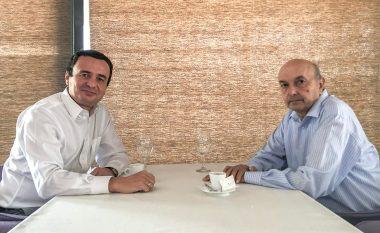 Pas takimit me Isa Mustafën, flet Albin Kurti