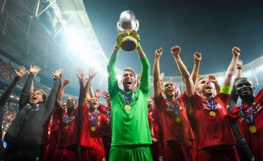 Adrianit iu deshën vetëm nëntë ditë për të fituar trofeun e parë dhe të shpallet hero i Liverpoolit