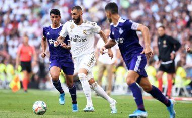 Real Madridi ndalet në Bernabeu nga Valladolidi