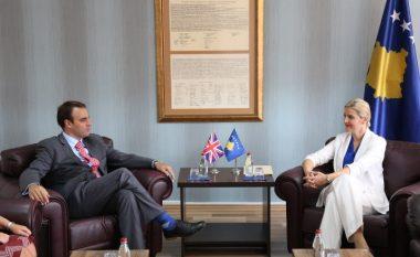 Reagon O'Connell pas takimit me ministren Hoxha: Nuk folëm për MSA-në e as për të drejtat e njeriut