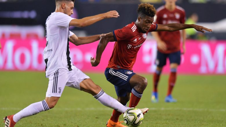 Kingsley Coman. (Photo by Drew Hallowell/Getty Images)
