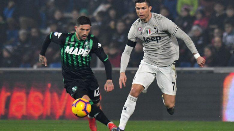 Juventus  - Sassuolo .  (Photo by Alessandro Sabattini/Getty Images)