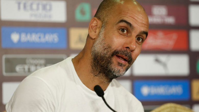 Pep Guardiola .(Photo by Fred Lee/Getty Images for Premier League)