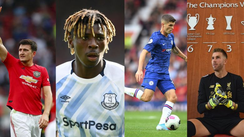 Harry Maguire, Moise Kean, Christian Pulisic, Adrian (Foto: Getty Images/Guliver/Twitter)