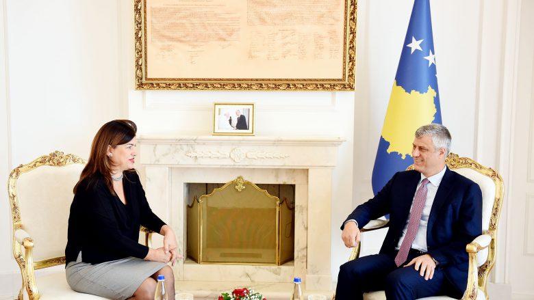Thaçi takon kryetaren e KQZ-së, kërkon nisjen e përgatitjeve për zgjedhje