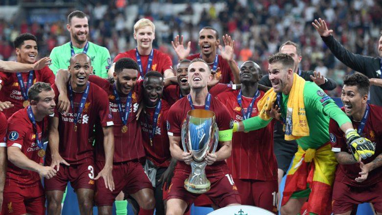 Liverpooli bëhet klubi anglez me më së shumti trofe të mëdhenj, kalon Unitedin
