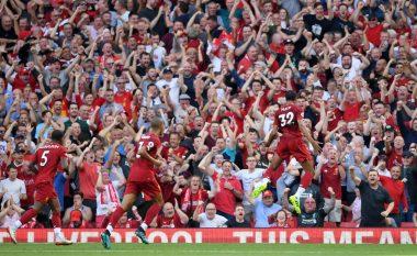 Liverpooli e mposht me lehtësi Arsenalin në derbin e javës në Ligën Premier