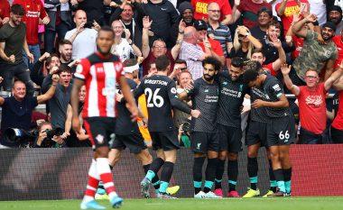 Liverpooli vazhdon me fitore, triumfon në udhëtim te Southamptoni