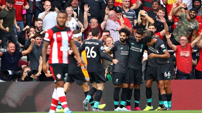 Liverpool - Southampton (Foto: Warren Little/Getty Images/Guliver)