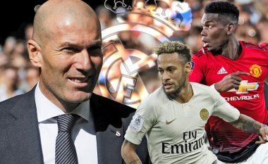 Zidane flet përsëri për Pogban dhe Neymarin