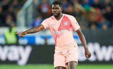 Umtiti po lufton për karrierën e tij te Barcelona
