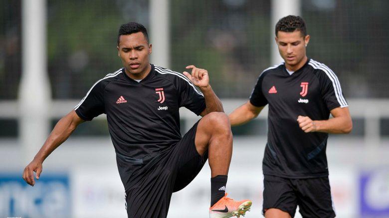 Sandro dhe Ronaldo (Foto: Juventus/Twitter)