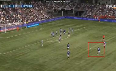 Mbrojtësi i ri i Kosovës, Ibrahim Dresevic shënon gol të jashtëzakonshëm nga 31 metra
