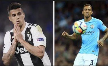 Juventusi ka filluar ta mendojë shkëmbimin e Cancelos me Danilon