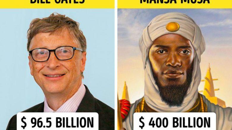 Këta janë 10 njerëzit më të pasur nga e kaluara, që i bëjnë miliarderët modernë të duken të vegjël