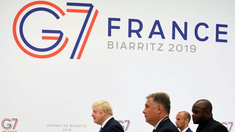 Kryeministri britanik Boris Johnson, pjesëmarrës në samitin e G7-së në Francë | Foto: Dylan Martinez - Pool/Getty Images/Guliver
