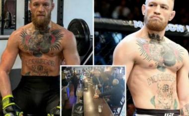 McGregor kishte një takim të fshehtë me burrin e moshuar që e goditi në kafene