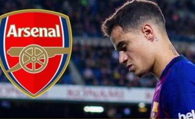 Arsenali tenton transferimin e Coutinhos në formë huazimi