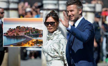 David dhe Victoria Beckham ndodhen në Mal të Zi, po shijojnë pushimet në Sveti Stefan