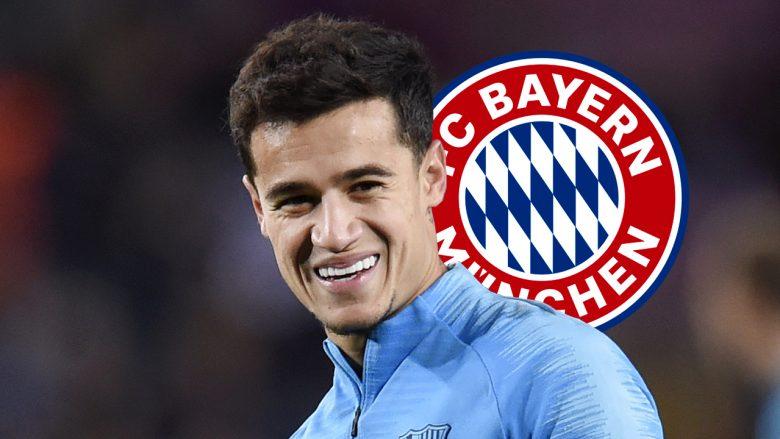 Bayerni e konfirmon arritjen e marrëveshjes me Barcelonën për Coutinhon