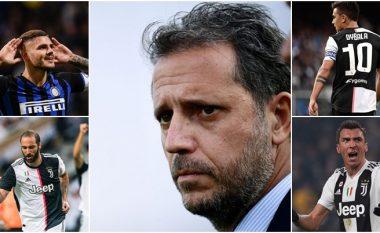 Paratici flet për lëvizjet e fundit të Juventusit në sulm që lidhen me Dybalan, Icardin, Mandzukicin dhe Higuainin