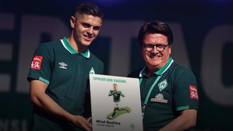 Rashica pranon çmimin e lojtarit të sezonit te Werder Bremeni