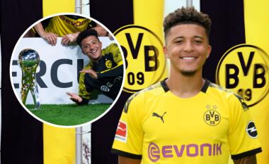 Jadon Sancho rinovon kontratën me Dortmundin, bëhet adoleshenti i dytë më i paguar në futbollin botëror - lë pas emra si Felix, Kean dhe Foden