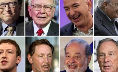 """Më """"fukaraja"""" ka pasuri 29 miliardë dollarë, për më të pasurin mos të flasim: Kjo është pasuria e 30 njerëzve më të pasur në planet"""