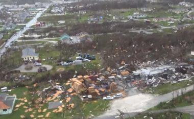 Pamjet e filmuara nga ajri tregojnë dëmet e uraganit Dorian, gjithçka është bërë rrafsh me tokë