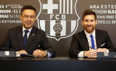 Messi mund të largohet nga Barcelona vitin e ardhshëm, këtë ia mundëson kontrata