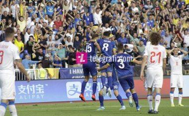 Reagon edhe UEFA pas fitores dhe formës së lartë të Kosovës