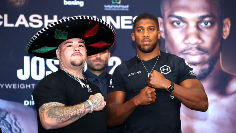 Andy Ruiz Jr. dhe Anthony Joshua (Foto: Richard Heathcote/Getty Images/Guliver)