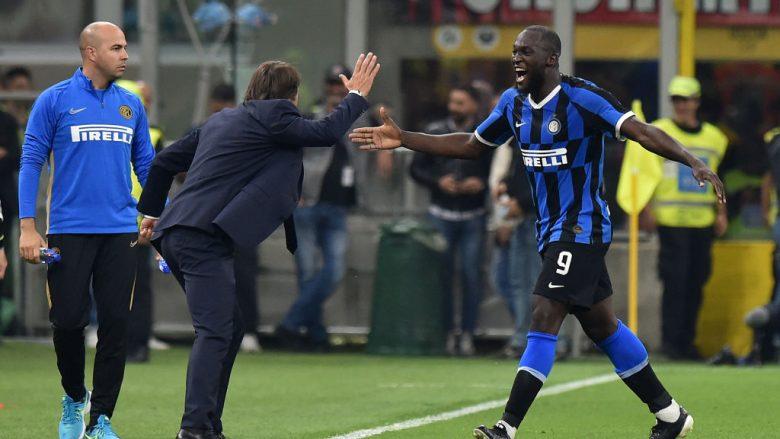 Romelu Lukaku dhe Antonio Conte (Foto: Tullio M. Puglia/Getty Images/Guliver)