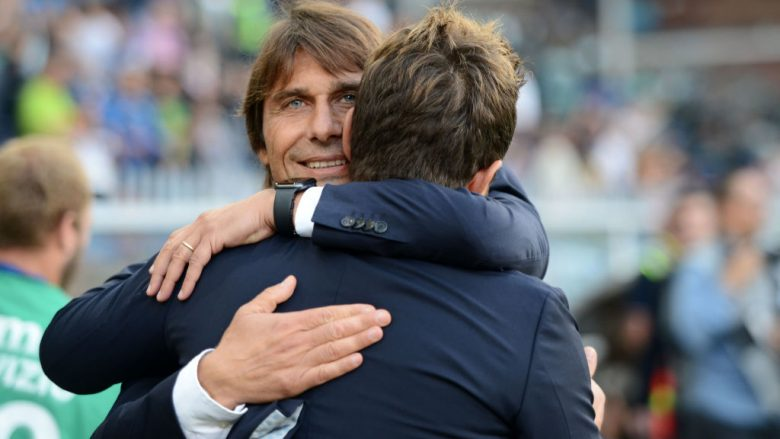 Antonio Conte dhe Eusebio Di Francesco (Foto: Paolo Rattini/Getty Images/Guliver)