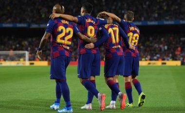 Barcelona nënshtron me goleadë Valencian