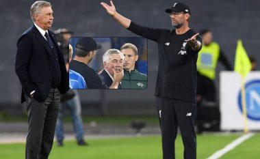 Ancelotti tregon fjalët që ia tha Kloppit në fund të ndeshjes