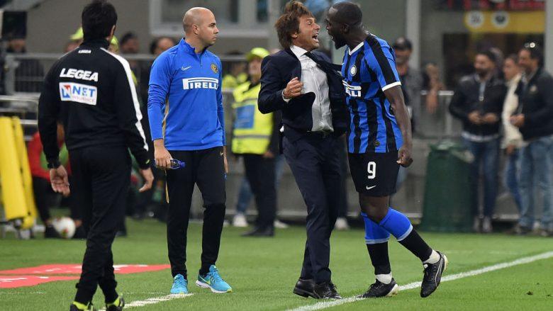 Antonio Conte - Romelu Lukaku (Foto: Tullio M. Puglia/Getty Images/Guliver)