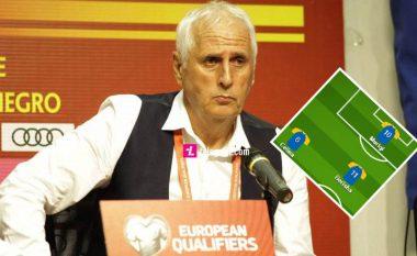 Formacioni i mundshëm i Kosovës, Challendes me dy ndryshime kundër Anglisë