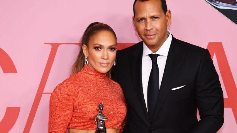 Jennifer Lopez dhe Alex Rodriguez (Foto: Dimitrios Kambouris/Getty Images)