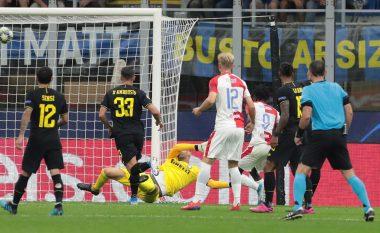 Notat e lojtarëve, Inter 1-1 Slavia Pragë: Dështon sulmi zikaltër