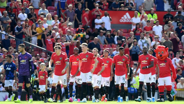 Manchester United. (Photo by Michael Regan/Getty Images)