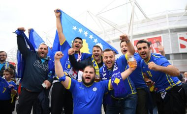 """Baneri i """"Dardanëve"""" që nuk u lejua të futej mbrëmë në stadium kishte një mesazh të madh"""