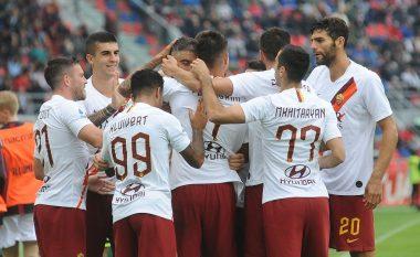 Roma në sekondat e fundit të ndeshjes arrin ta mposht Bolognan