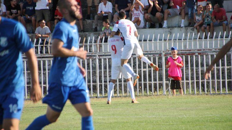 Festa e lojtarëve të Gjilanit (Foto: SC Gjilani/Facebook)