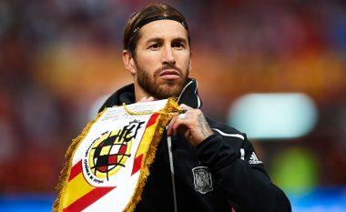 Pas barazimit të rekordit të Casillas, Ramos: Objektivi im, të arrij 200 paraqitje me Spanjën