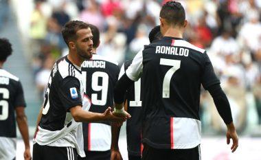 Fitore komode e Juves ndaj Spalit, para derbit ndaj Interit
