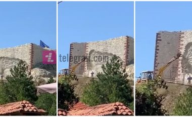 Intervenimi me ekskavator rrezikon shkatërrimin e Kalasë së Novobërdës
