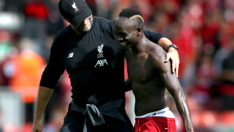 Sadio Mane dhe Jurgen Klopp (Foto: Jan Kruger/Getty Images/Guliver)