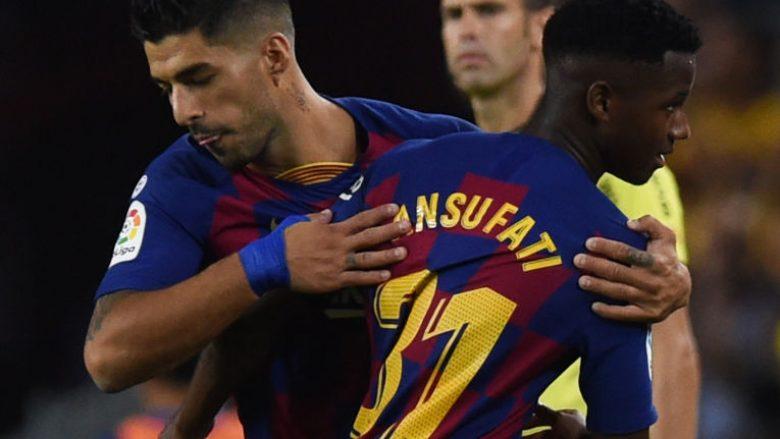 Luis Suarez dhe Anssumane Fati (Foto: Alex Caparros/Getty Images/Guliver)