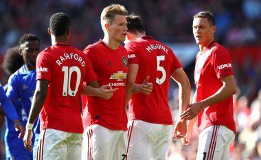 Fitore minimale e Unitedit, mposht Leicesterin në Old Trafford